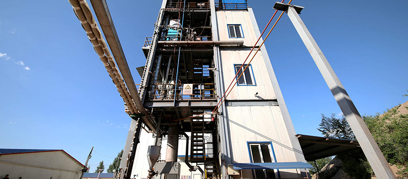 煤基短流程熔池熔煉系統
