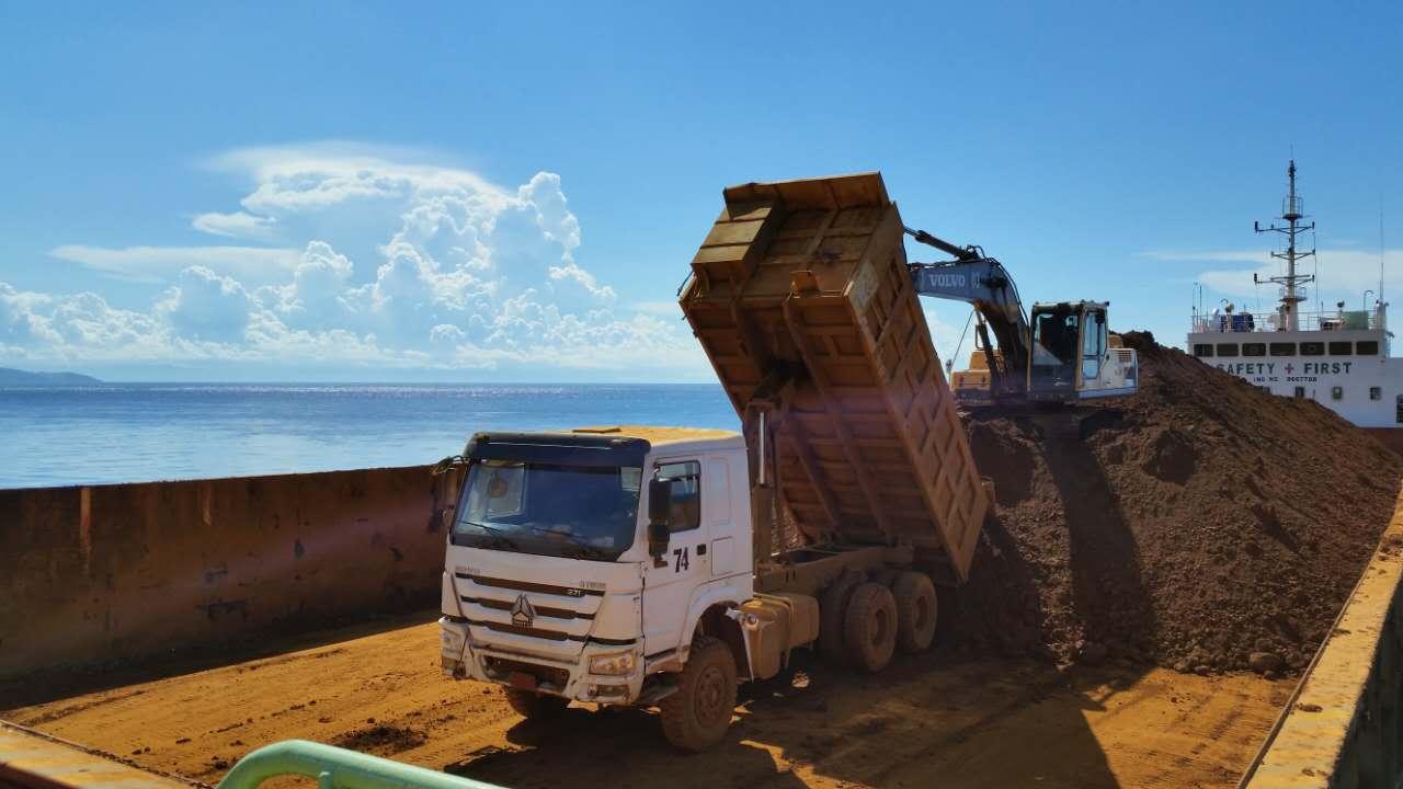 天馬集團在海外   建設碼頭,駁船裝貨……來自菲律賓合作鎳礦山的最新消息!